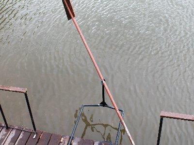 Весло на плоту
