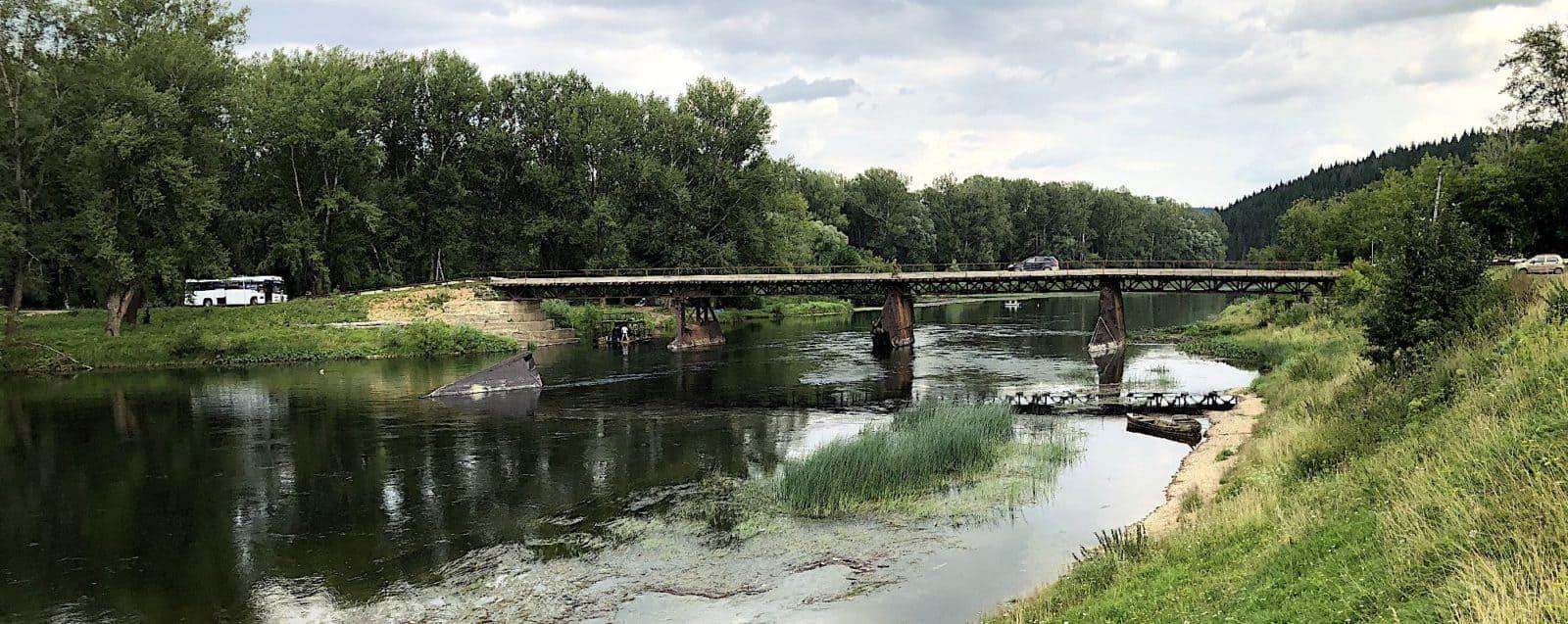 Старый саранинский мост