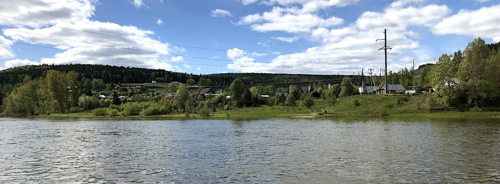 Мост в Рябиновке