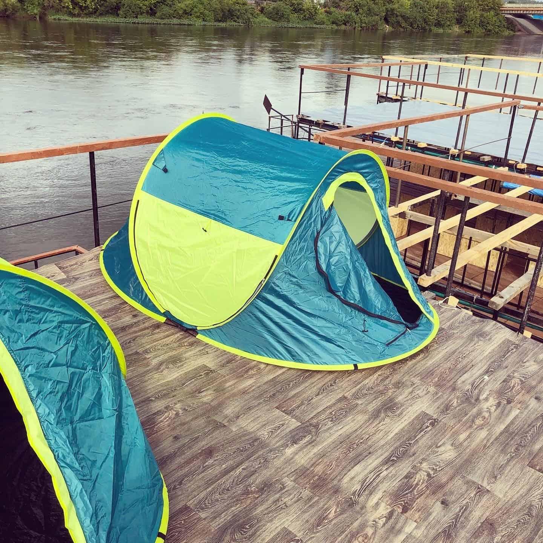 ДВухместная палатка трансформер